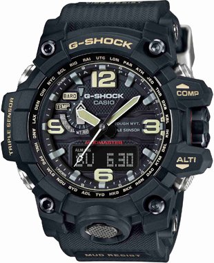 Casio G-SHOCK MUDMASTER Mens Watch GWG-1000-1ADR