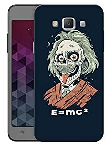 """Humor Gang Happy Albert Printed Designer Mobile Back Cover For """"Samsung Galaxy Grand 3"""" (3D, Matte, Premium Quality Snap On Case)"""