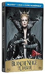 Blanche-Neige et le chasseur - Combo Blu-ray + DVD + Copie digitale - Boîtier métal [Blu-ray]