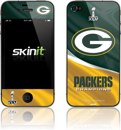 Skinit Super Bowl Green Bay Packers Vinyl Skin for Apple iPhone 5