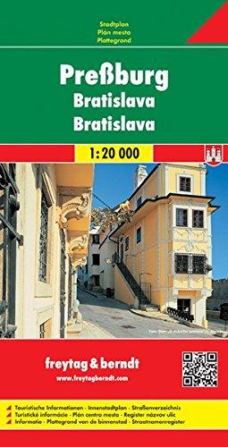 Bratislava/pressburg: City Map