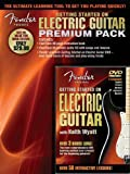 Fender Presents: Getting Started On Electric Guitar - Premium Pack - CD, DVD (Region 0), Sheet Music