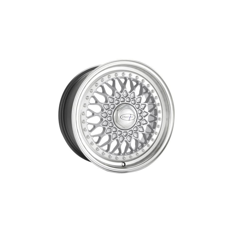 Privat REMEMBER Silver Wheel with Machined Lip (16x7/5x100mm, +35mm offset)