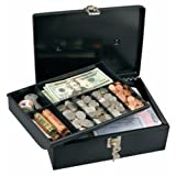 Master Lock 7113D Cash Box with 7-Compartment Tray ~ Master Lock