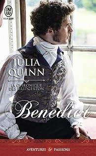 La chronique des Bridgerton, Tome 3 : Benedict  par Julia Quinn