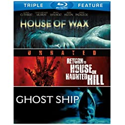 House of Wax  / Return to House on Haunted [Blu-ray]