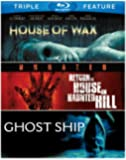 House of Wax (2005) / Return to House on Haunted Hill / Ghost Ship (BD) (3FE) [Blu-ray]