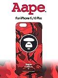 A BATHING APE アベイシングエイプ AAPE iPhone6/iPhone6plus/iphone6s 保護殻 ケースカバー (iPhone6/6s, B) [並行輸入品]
