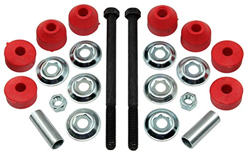 Acdelco 46G0016A Advantage Front Suspension Stabilizer Bar Link Kit With Hardware