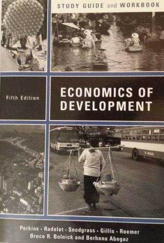 Economics of Development: Study Guide and Workbook to 5r.e.