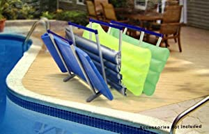 Swimming Pool Float And Toy Organizer Rack