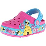 Crocs CrocsLights Busy Bee PS, Girls' Clogs