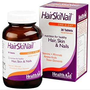 HealthAid HairSkiNail - 30 Tablets