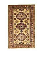 Design Community By Loomier Alfombra Ozbeki Ghazni A (Beige/Multicolor)