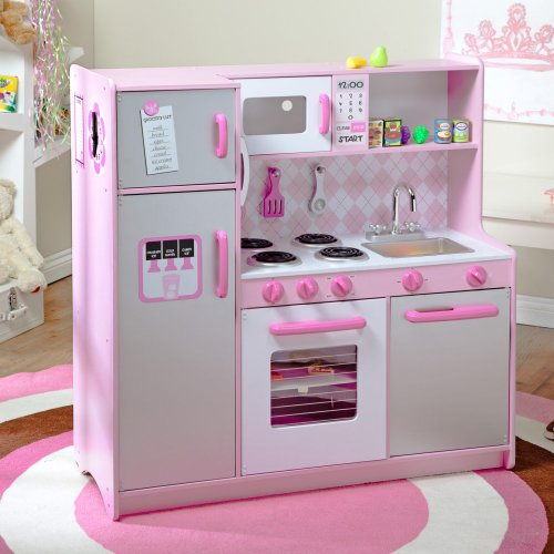 Kidkraft Kidkraft Argyle Play Kitchen With 60 Pc. Food Set, Multicolor, Wood