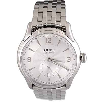 Oris Men's 623 7582 4071MB Artelier Small Second Date Watch