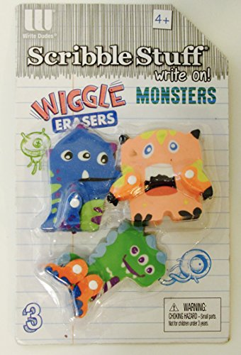 Scribble Stuff Puzzle Erasers - Wiggles