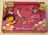 Dora the Explorer Best Friends Rings, Snap Clips, & Bracelets Set