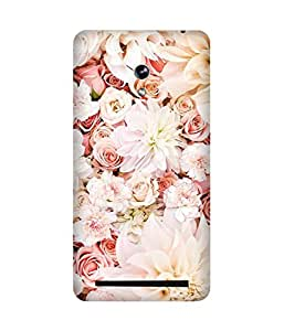 White and Pink Asus Zenfone 6 Case