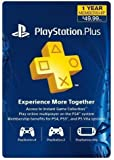 1-Year Playstation Plus Membership Card for PS4/PS3/PS Vita