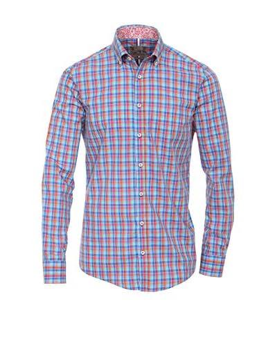 Venti Camicia Uomo [Blu/Rosso]