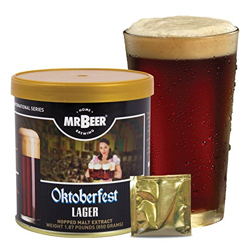 Mr. Beer Oktoberfest Lager Homebrewing Craft Beer Refill Kit (Beer Making Sugar compare prices)