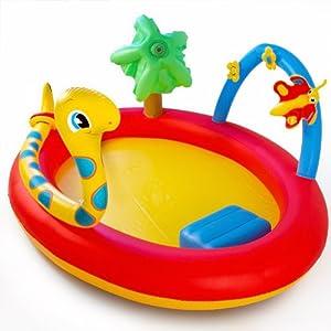 Piscina gonfiabile Playground per bambini Bestway 193 x 150 x 89 cm 136l: Amazon.it: Giochi e ...