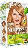 Garnier Nutrisse Creme Pflegende Intensiv-Coloration, 9.34 Natürlich Schimmerndes Bernstein Blond, 3er Pack (3 x 1 Stück)