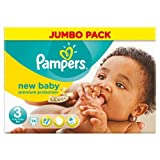Del tamaño de la Pampers New no es tóxica juego de bebé pañales de 3 unidades por paquete 74 bolígrafo con aceite lubricante 5