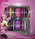 Disney Minnie Mouse Clubhouse Bow-tique Pretty Bracelet Set (VALUE 15 Piece Set)