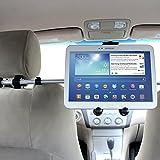 Prix Le Plus Bas ikross Support Appui-tête de voiture Universel Pour tablette de 7 à 10.2 pouces avec rotation à 360° - Noir Pour Apple iPad Air 2 (iPad 6), Mini 3 / iPad Mini 2, HTC Google Nexus 9, Samsung Galaxy Tab 4 Tab4 7.0 / 8.0 / 10.1, LG Gpad V480, Asus MeMO Pad 8 ME181CX, Lenovo TAB A8-50