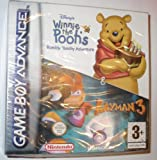 Disney's Winnie The Pooh Rumbly Tumbly Adventure/Rayman 3 Gameboy Advance