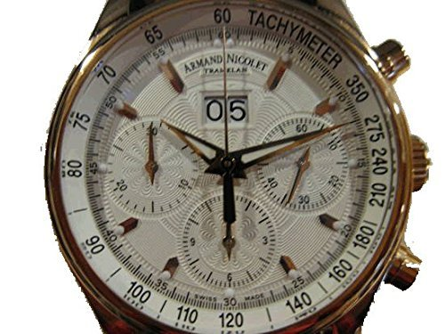 Armand Nicolet M02 Men's Gold automatic Watch 7148AN-AG-P914MR2