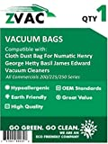 Cloth Dust Bag For Numatic Henry George Hetty Basil James Edward Vacuum Cleaners by ZVac