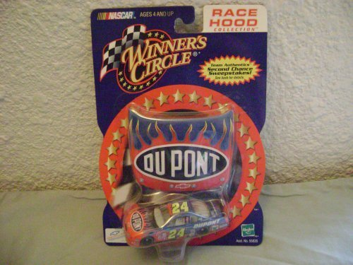Winner's Circle 2001 Jeff Gordon DuPont Flames Monte Carlo with Hood - 1