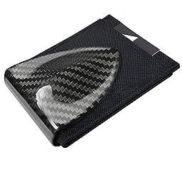 Billetus Men\'s Carbon Fiber Money Clip & RFID Blocking Wallet CFBN