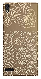 WOW Printed Designer Mobile Case Back Cover For Huawei Honor P6