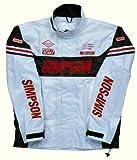シンプソン(SIMPSON) レインスーツ WH LL SRS-2191
