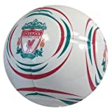Liverpool FC Official 32 Panel Size 5 Football White