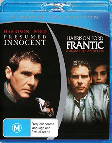Frantic / Presumed Innocent [Harrison Ford] [Blu-ray Double] [NON-USA Format / PAL / Region B Import - Australia]