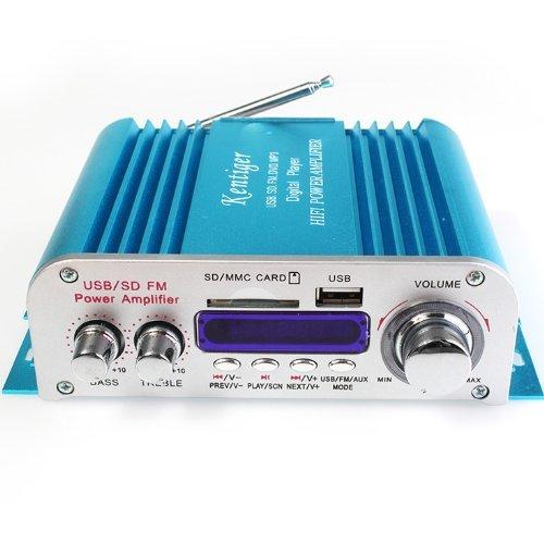Hy-3005 Dc12V 20W+20W Usb Sd Fm Dvd Mp3 Digital Player Hifi Boat Car Power Amplifier