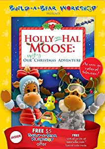 Build A Bear Presents Holly Hal Moose Our Uplifting Christmas Adventure by Millennium Media