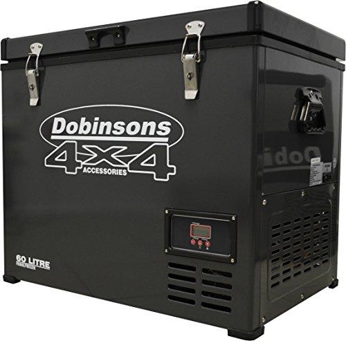 Dobinsons 4x4 60 Liter 12V Portable Fridge Freezer Single Zone, Includes FREE insulating cover bag (Luna Fridge compare prices)