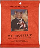 Mr Trotters Jalapeno Chilli Pork Crackling 60 g (Pack of 12)