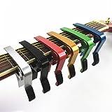 Akord QUICK RELEASE ALUMINIUM Metall Kapodaster für akustische und elektrische Gitarren schwarz