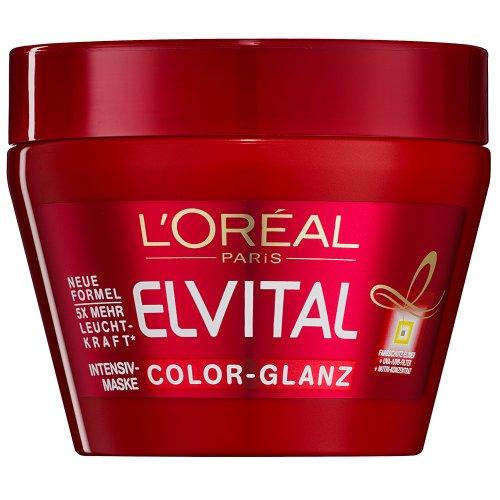 L'Oréal Paris, Maschera protettiva Elvive Color-Vive, per capelli colorati, 300 ml