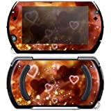 Sony Psp Go Decal Skin Love Love Love