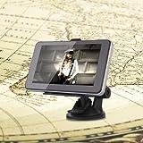 Touch Screen 5 Pollici Navigatore GPS 4GB MTK RAM 128MB per Auto Con Supporto
