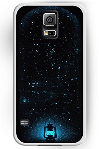 Sprawl Beautiful Vintage Design Hard Shell For Samsung Galaxy S5 Hard Plastic Back Case For Women -- Shine Charming Firefly And Lamp