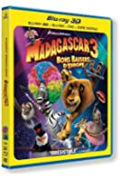 Madagascar 3 : Bons baisers d'Europe [Combo Blu-ray 3D + Blu-ray + DVD + Copie digitale]